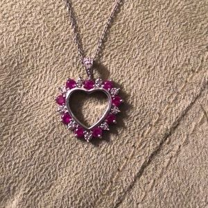 Heart pendant necklace (Hint:Mother's Day)